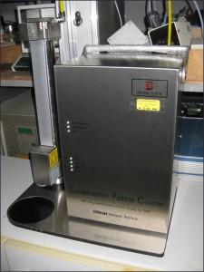 Nanopartikelmessgerät