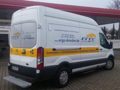 ERGO weiht neues Messfahrzeug ein