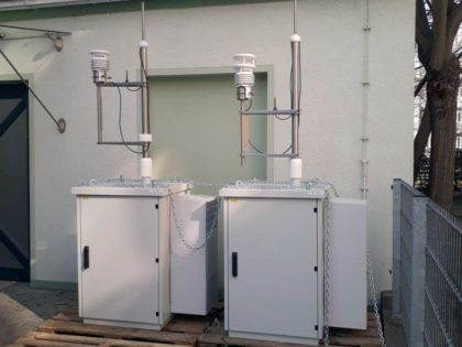Testlauf für zwei neue Aerosolspektrometer