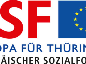 Online-Überwachung von Luftschadstoffen durch Flugroboter – unterstützt durch die Europäische Union – Gefördert durch den Freistaat Thüringen aus Mitteln des Europäischen Sozialfonds